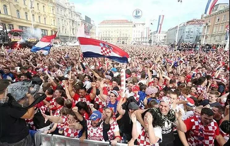 拥有克罗地亚精神的,还有他们